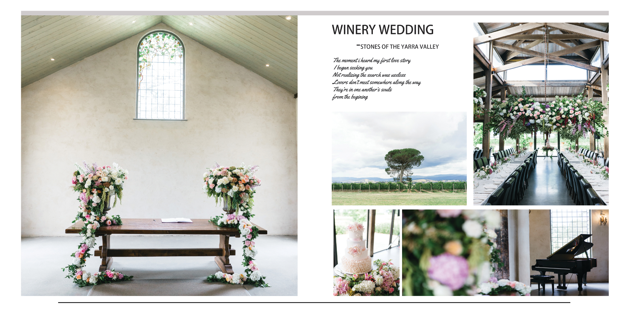 wedding planning Melbourne wedding theme idea winery wedding
