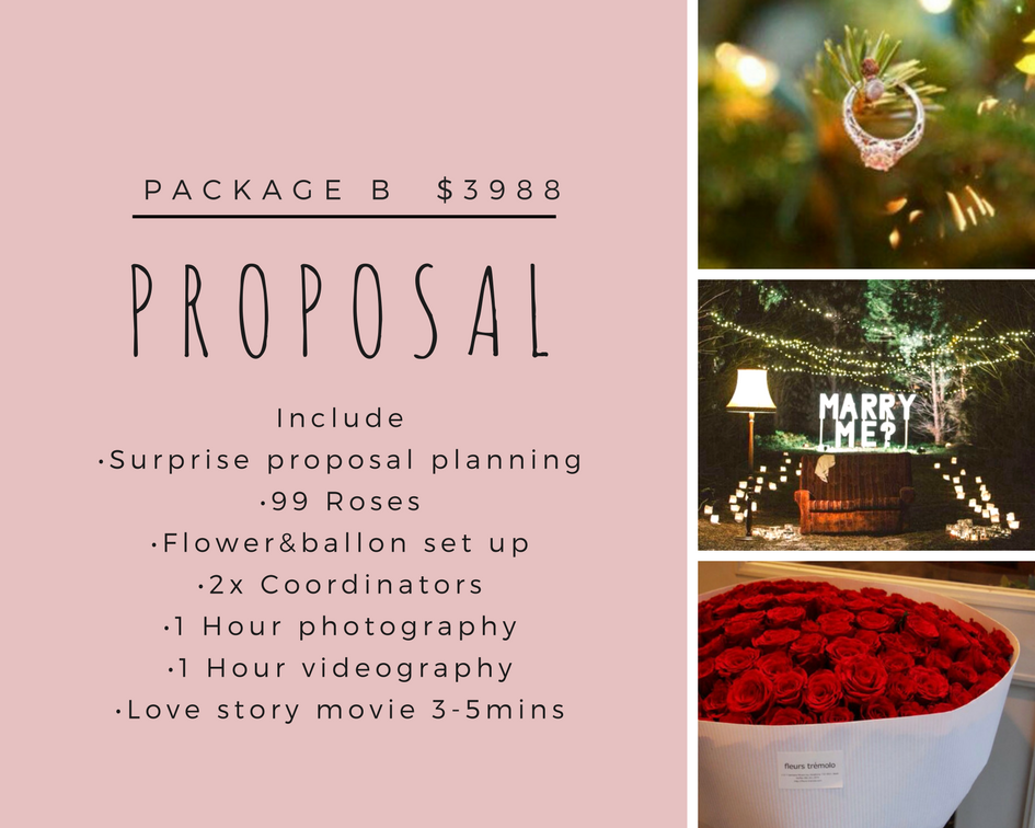 wedding planning Melbourne package B